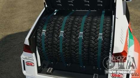 Mitsubishi Montero EVO MPR11 2005 v1.0 [EPM] pour GTA 4 vue de dessus