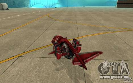 MOSKIT air Command and Conquer 3 pour GTA San Andreas vue de droite