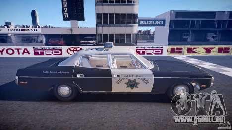 AMC Matador CHP [ELS] für GTA 4 Seitenansicht