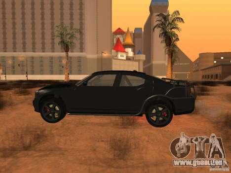 Dodge Charger Fast Five für GTA San Andreas linke Ansicht