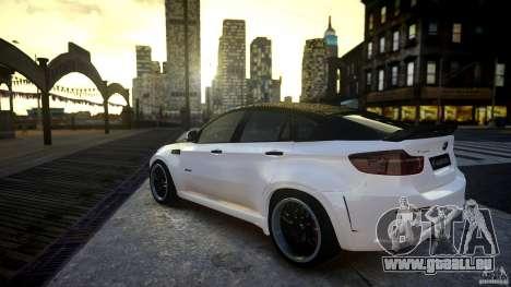 BMW X 6 Hamann pour GTA 4 est une gauche