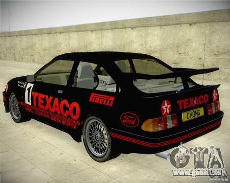 Ford Sierra RS500 Race Edition für GTA San Andreas linke Ansicht