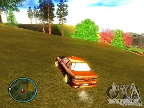 Nissan Silvia für GTA San Andreas zurück linke Ansicht