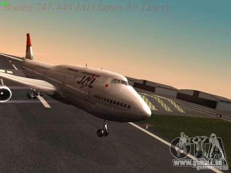 Boeing 747-446 Japan-Airlines für GTA San Andreas