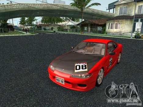 Nissan Silvia S15 Tunable pour GTA San Andreas sur la vue arrière gauche