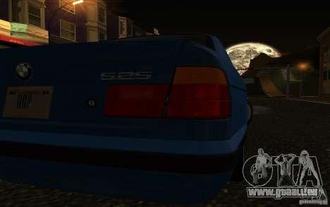 BMW 525 E34 V.3 pour GTA San Andreas vue de droite