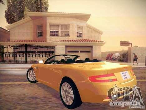 Aston Martin DB9 Volante v.1.0 für GTA San Andreas rechten Ansicht