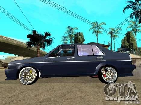VW Jetta pour GTA San Andreas laissé vue