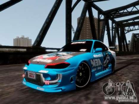 Nissm Silvia S15 Blue Tiger pour GTA 4