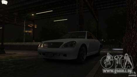 Schafter LT pour GTA 4 Vue arrière