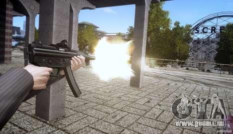 H&K MP5k pour GTA 4 quatrième écran