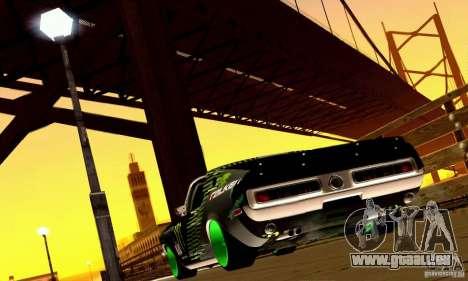 Shelby GT500 Monster Drift für GTA San Andreas