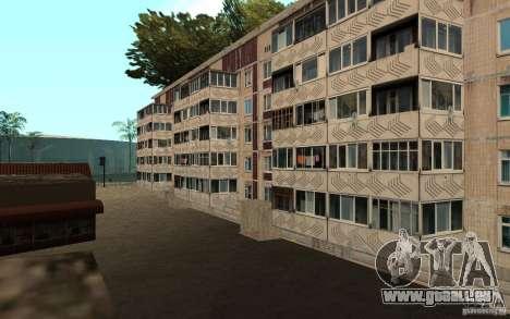 Une petite ville russe sur la rue Grove pour GTA San Andreas