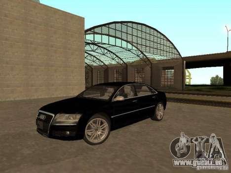 Audi A8 W12 S-Line für GTA San Andreas