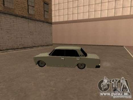VAZ 2107 gebrochen für GTA San Andreas rechten Ansicht