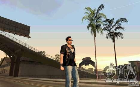 Biker pour GTA San Andreas troisième écran