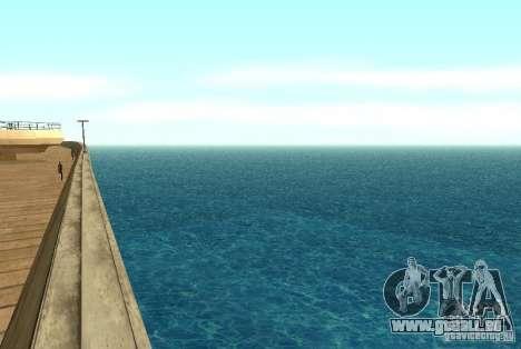 Nouvelle eau de texture pour GTA San Andreas deuxième écran