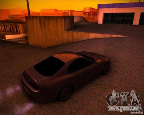 Toyota Supra SHE pour GTA San Andreas vue arrière