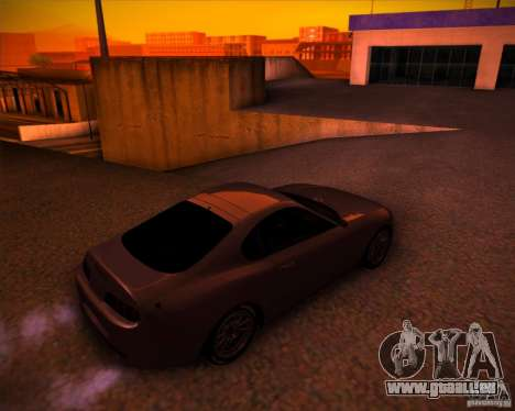 Toyota Supra SHE für GTA San Andreas Rückansicht