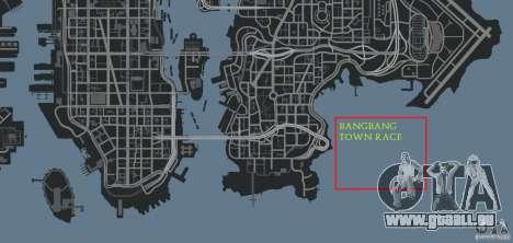 BangBang Town Race pour GTA 4 dixièmes d'écran