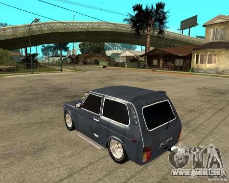 NIVA Mustang pour GTA San Andreas laissé vue