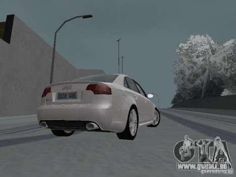 Audi RS4 pour GTA San Andreas vue de droite