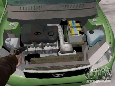 LADA 1117 Break Viburnum pour GTA 4 Vue arrière