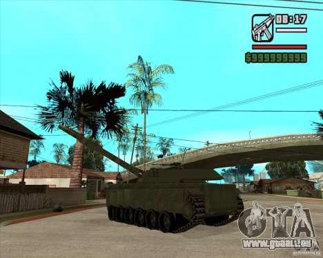 TT-140 mb pour GTA San Andreas sur la vue arrière gauche