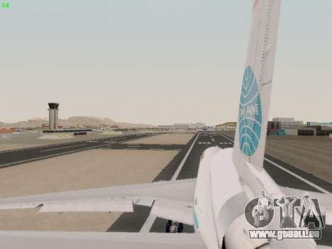 McDonell Douglas DC-10-30 PanAmerican Airways pour GTA San Andreas vue de côté