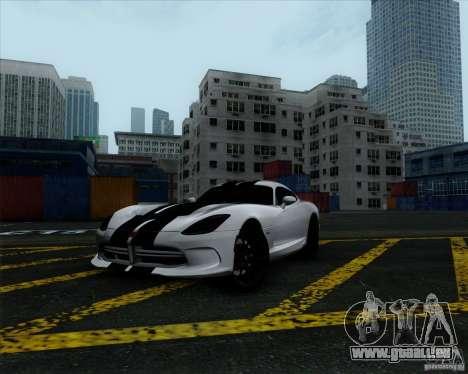 Dodge Viper SRT 2013 für GTA San Andreas