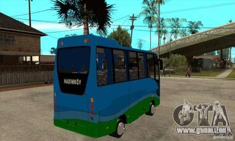 Iveco Eurocity für GTA San Andreas rechten Ansicht