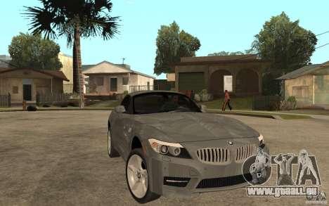 BMW Z4 sdrive35is 2011 pour GTA San Andreas vue arrière