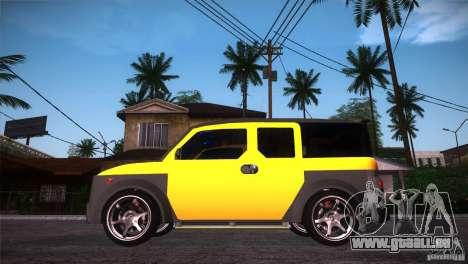 Honda Element LX pour GTA San Andreas laissé vue