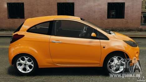 Ford Ka 2011 pour GTA 4 est une gauche