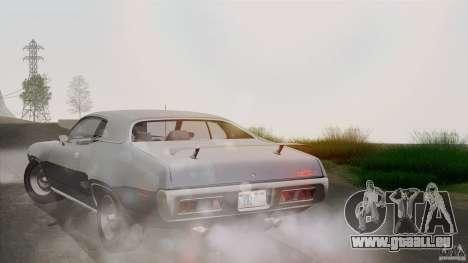 Plymouth GTX 426 HEMI 1971 für GTA San Andreas Unteransicht