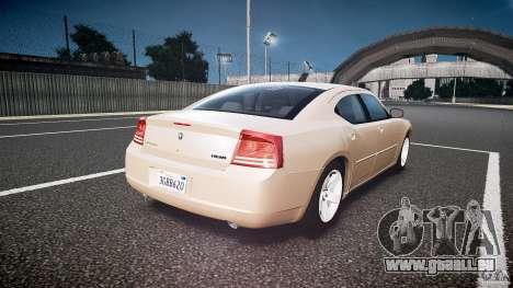 Dodge Charger RT Hemi 2007 Wh 1 für GTA 4 Seitenansicht