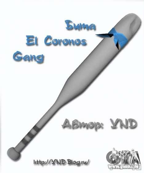 Bat El Coronos v.1.0 pour GTA San Andreas