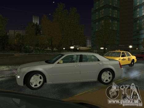 Chrysler 300C HEMI 5.7 2009 pour GTA San Andreas laissé vue