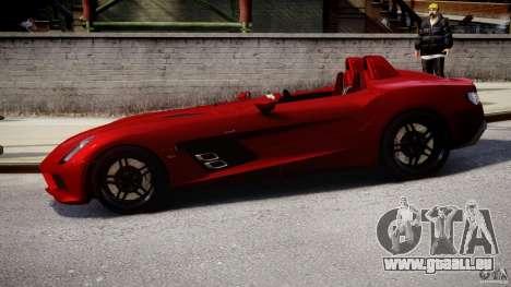Mercedes-Benz SLR McLaren Stirling Moss [EPM] pour GTA 4 est une gauche