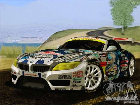 BMW Z4 E89 GT3 2010 Final pour GTA San Andreas