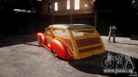 Chevy Fleetmaster Woody Kustom 1948 pour GTA 4 est un côté