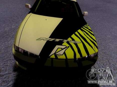 Nissan Silvia S14 Matt Powers v3 pour GTA San Andreas vue de dessus
