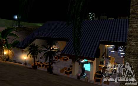 Beachclub für GTA San Andreas sechsten Screenshot