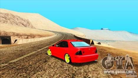 Lexus IS300 für GTA San Andreas rechten Ansicht