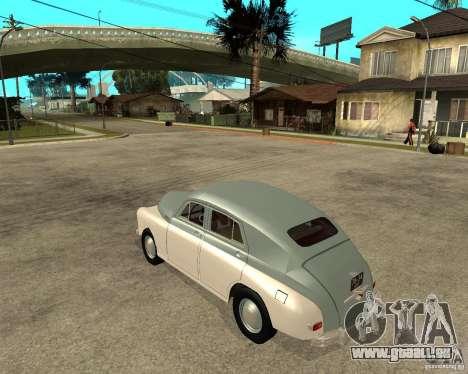 GAZ M20 Pobeda für GTA San Andreas linke Ansicht