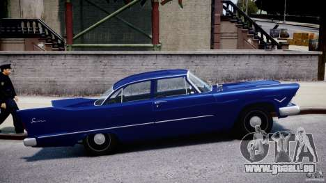 Plymouth Savoy Club Sedan 1957 für GTA 4 Innenansicht