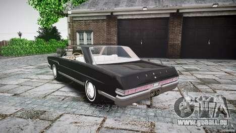 Ford Mercury Comet Caliente Sedan 1965 pour GTA 4 est un côté