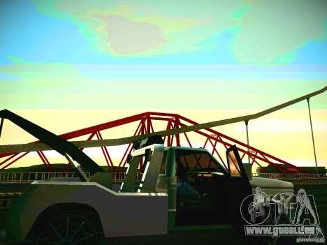 Towtruck tuned für GTA San Andreas linke Ansicht