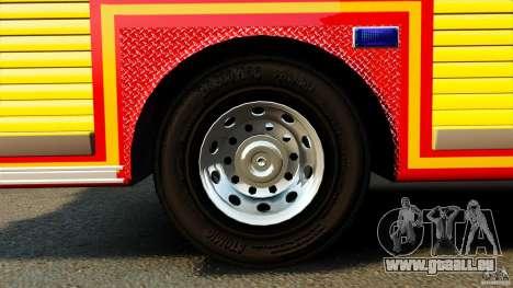 Mercedes-Benz Atego FPTGP Sapeurs Pompiers ELS pour GTA 4 est une vue de l'intérieur