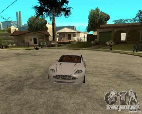 Aston Martin VANTAGE concept 2003 pour GTA San Andreas vue arrière